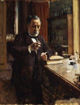 Albert Edelfelt, Etude pour le portrait de Louis Pasteur, 1885, Finnish National Gallery / Ateneum