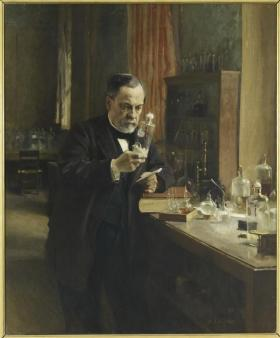 Albert Edelfelt, Portrait de Louis Pasteur, 1885, Musée d'Orsay