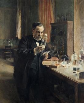 Albert Edelfelt et Helene Schjerfbeck, Réplique du portrait de Louis Pasteur, 1886, Institut Pasteur