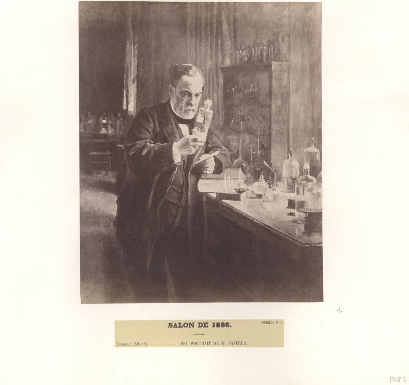 Portrait de Pasteur, Salon de 1886