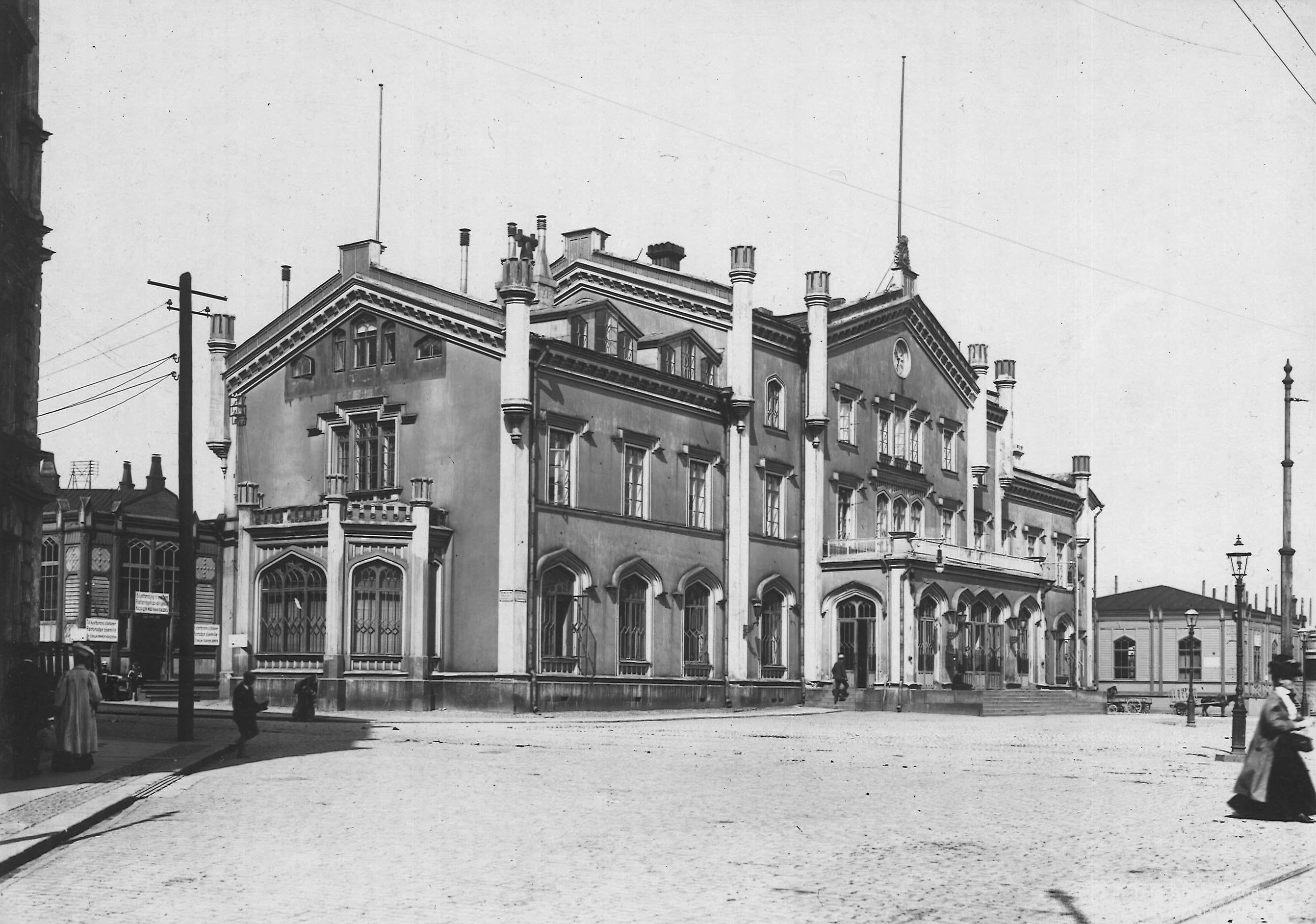 Gare de Helsinki, photo anonyme, collection priveì